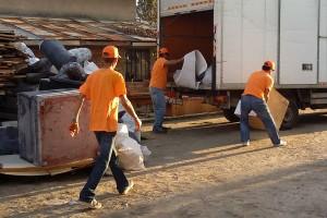 Изнасяне и извозване на отпадъци