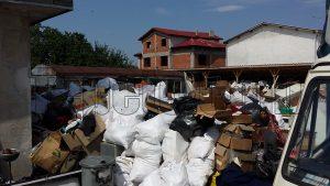 Сметище за изхвърляне на стари мебели в Пловдив