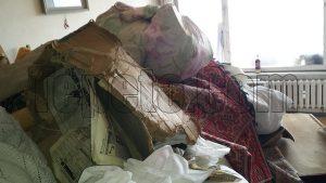 Изнасяне на боклуци от мазе в Пловдив