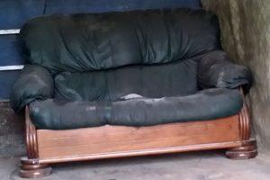 Изхвърляне на стар диван в Пловдив