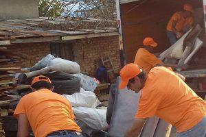 Извозване и изхвърляне на ненужни вещи в Пловдив цени